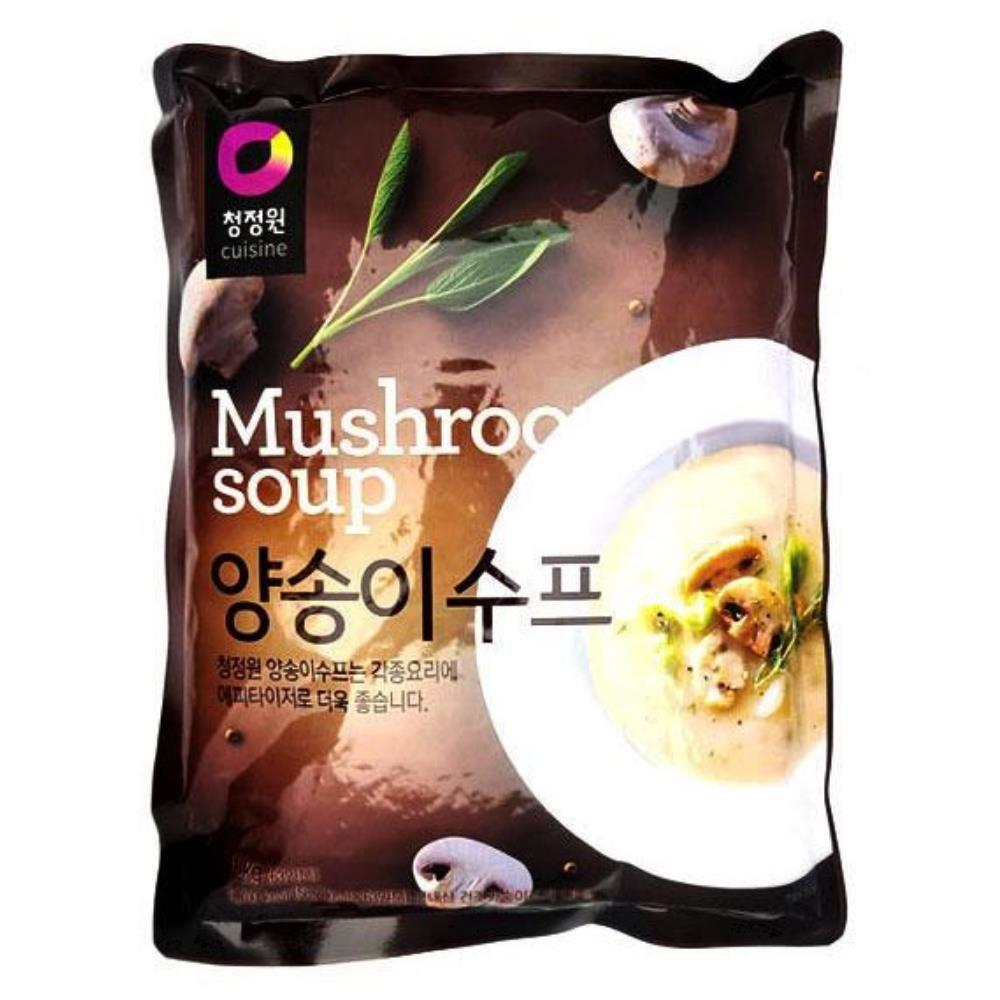 부드러운 양송이수프 1kg 간단요리 간단식사 식사대용