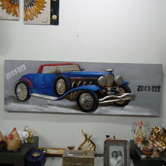 지프자동차유화 그림액자 그림장식품 벽걸이소품 인테리어