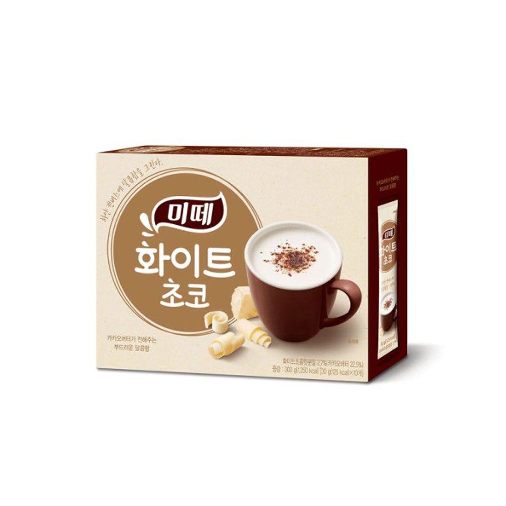 동서 미떼 핫초코 화이트 초코 120T 초콜릿 코코아