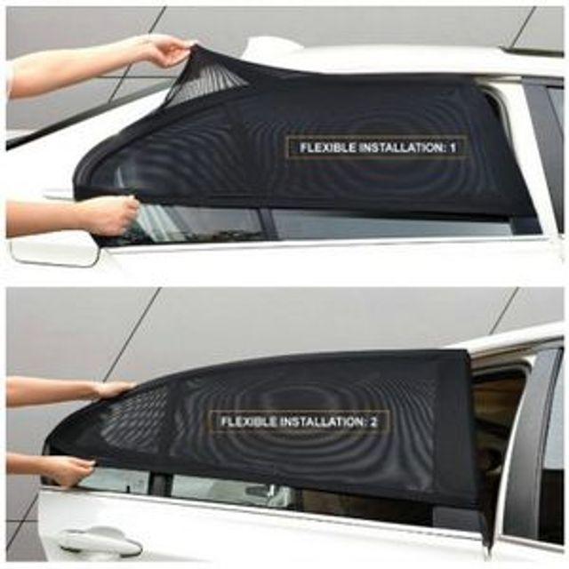 차량용 햇빛가리개 방충망 자외선차단 모기장 차양