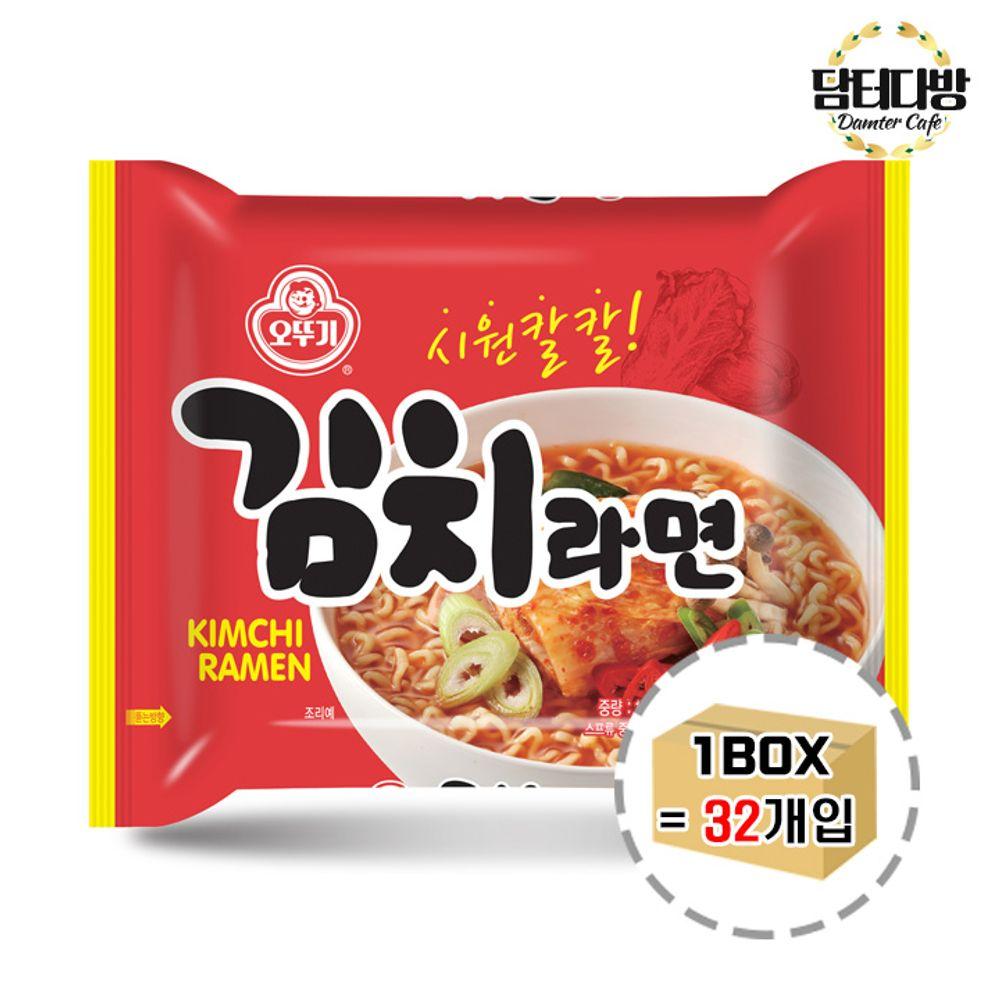 오뚜기 김치라면 1BOX (32봉)