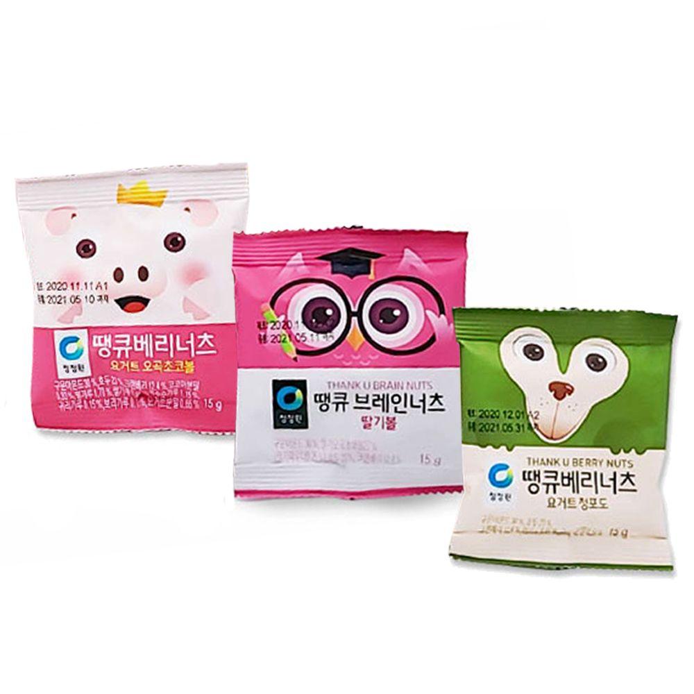 청정원 땡큐 브레인너츠 30봉 1BOX/한봉견과/요거트볼