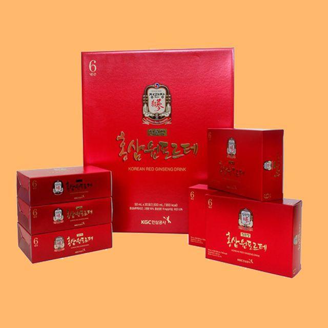 정관장 홍삼원포르테-50ml 30포 홍삼액기스 건강음료 홍삼음료 명절선물 부모님선물