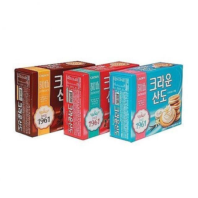 산도 딸기 크림치즈 323g  8개(1박스)