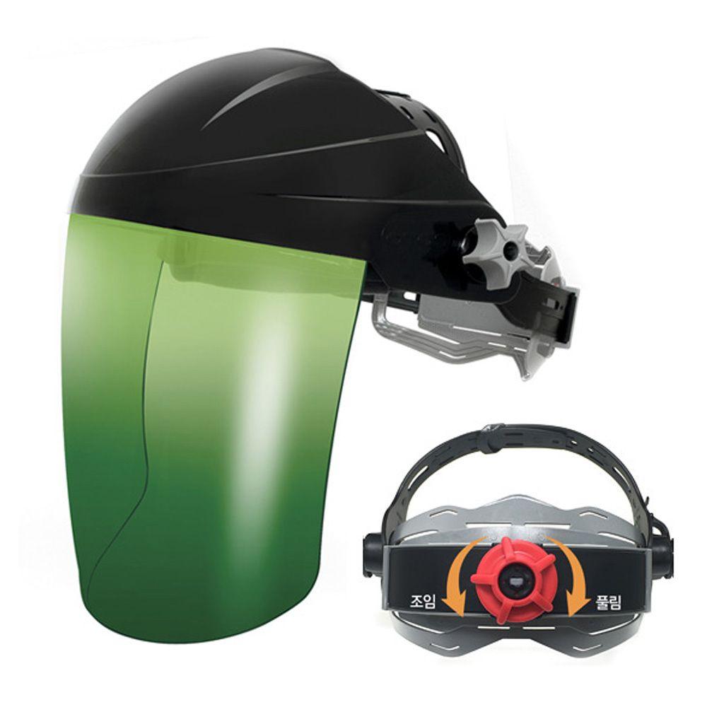 용접 산업용 공업용 안면보호구 안전 차광 보안면