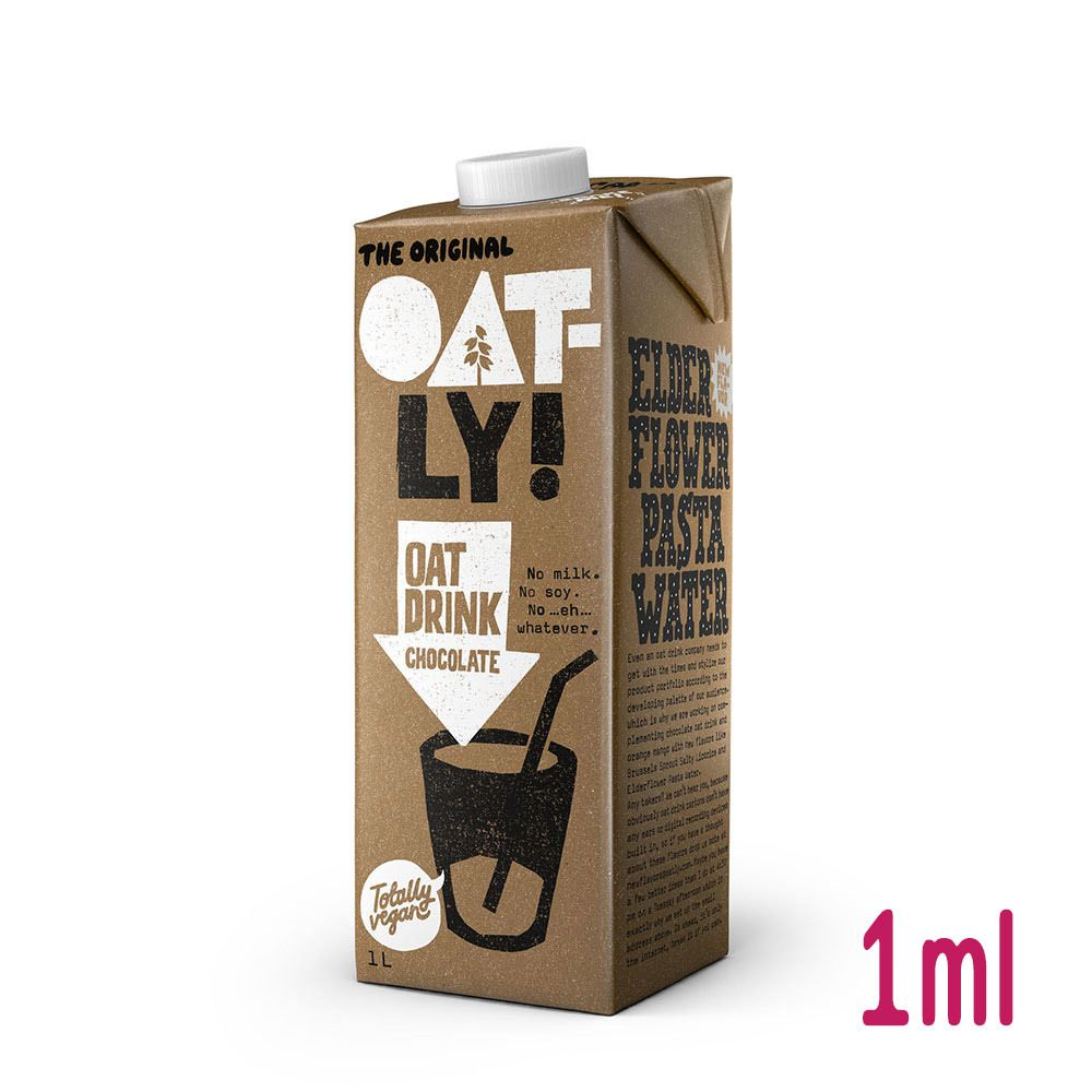 초콜릿맛 귀리두유 오트밀크 1L