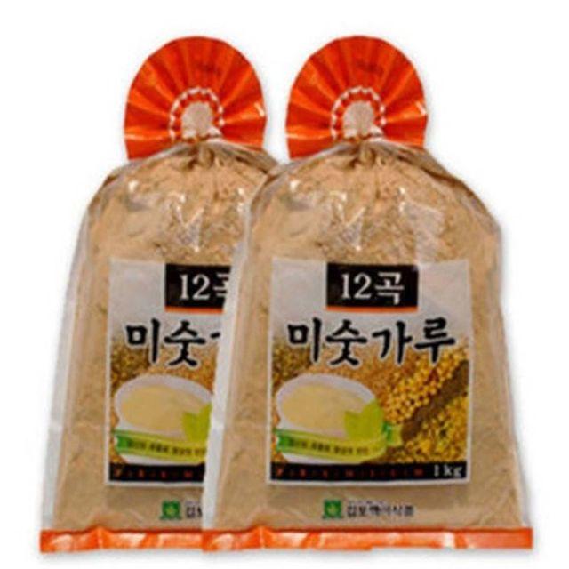 대용량 12곡미숫가루1kg 12개/검은곡물1kg 6개 택1