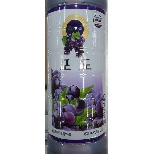 음료베이스 포도과즙 835ml