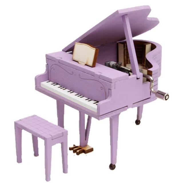 DIY 조립 오르골 그랜드피아노