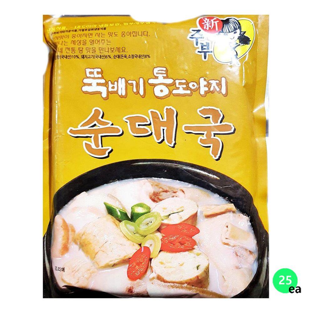 선미 순대국 탕/조림 즉석식품 600gX25