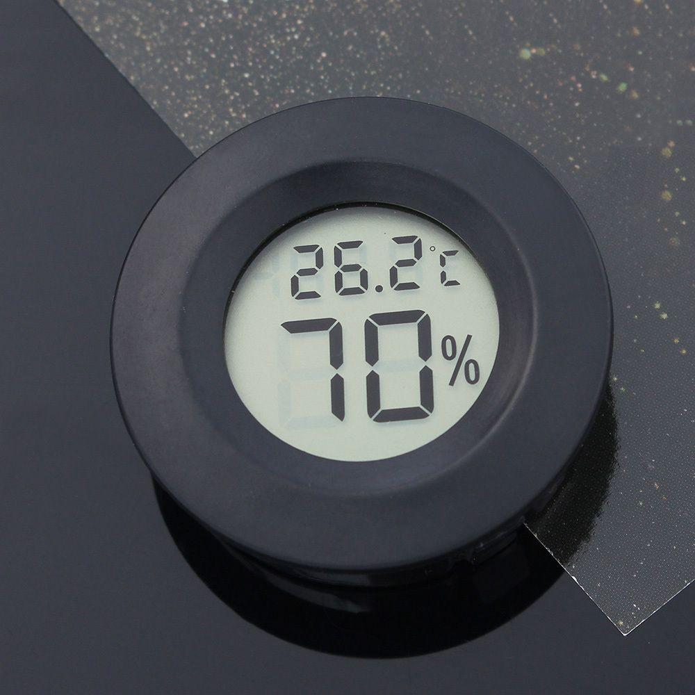 원형 미니 온도계 습도계 온습도계