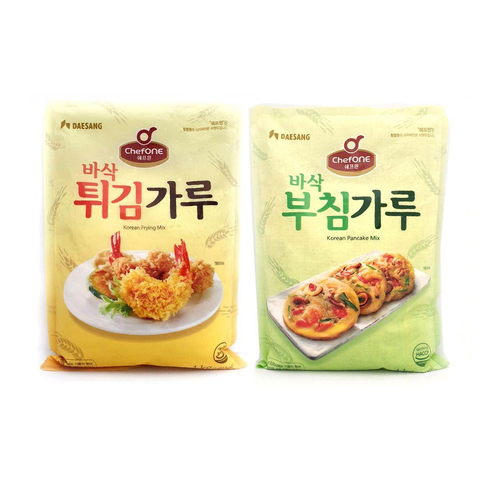 대상 쉐프원 부침가루 튀김가루/ 청정원 식자재/ 전