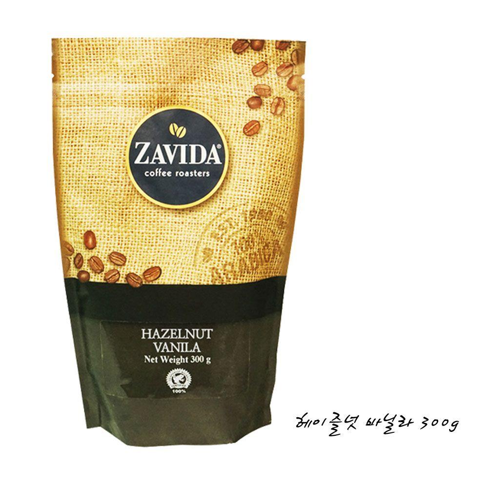 ZAVIDA COFFEE 헤이즐넛 바닐라 300g 향커피 원두