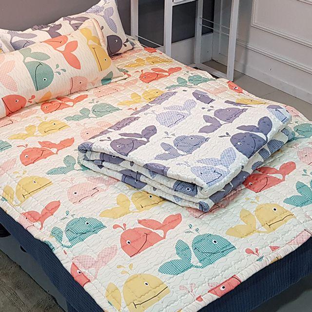 좋은솜 좋은이불 돌핀 슈퍼싱글 침대 패드