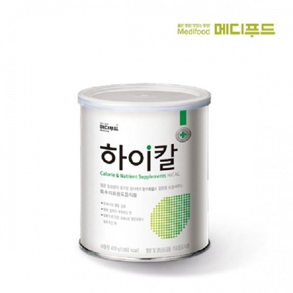 메디푸드 하이칼 400gx1캔 영양 보충 공급 열량섭취