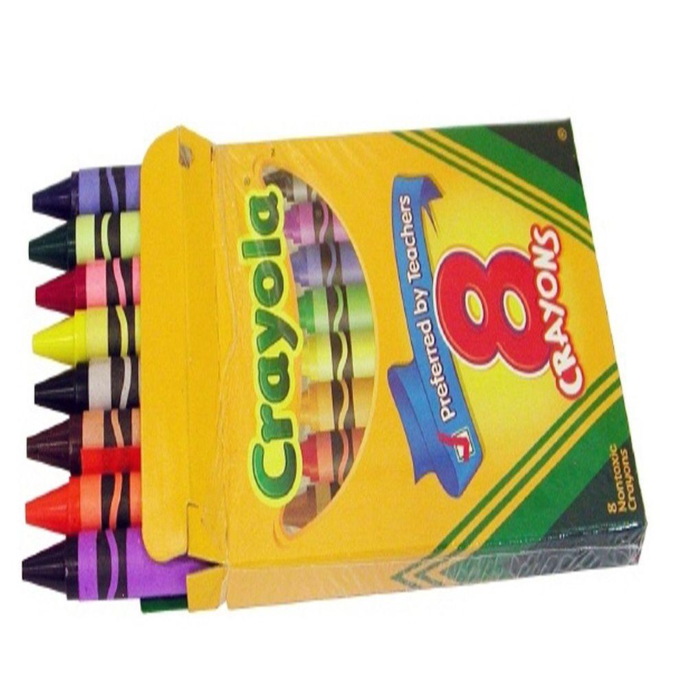 색연필 놀이 조카 크리스마스 선물 일반 크레용 8색