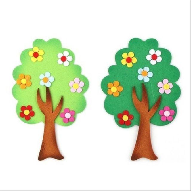 유니아트 펠트3500꽃나무