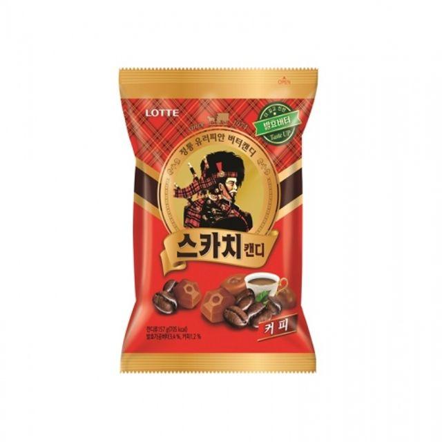 롯데 스카치 캔디 커피맛 157g 20봉지 사탕 스위트