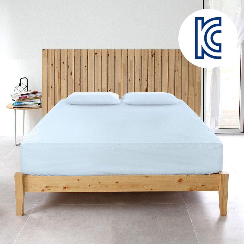 싱글 침대 매트리스커버/침구 매트커버 항균 시트패드
