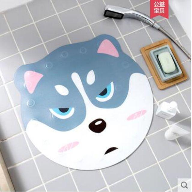 [더산직구]ins유럽풍 캐릭터 욕실 미끄럼 방지 매트 샤워 발매트/ 배송기간 영업일기준 7~15일