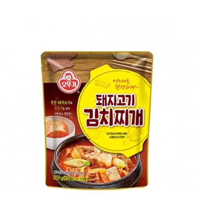 오뚜기 돼지고기김치찌개 280g