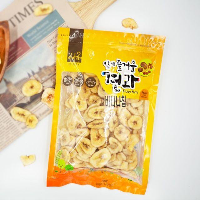 고씨네농장 바나나칩 바나나칩견과400g 바나나견과