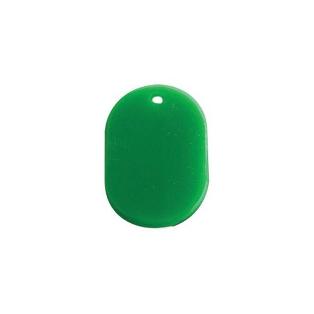 다용도 번호표 초록 열쇠 고리 양면 키홀더 숫자 알림