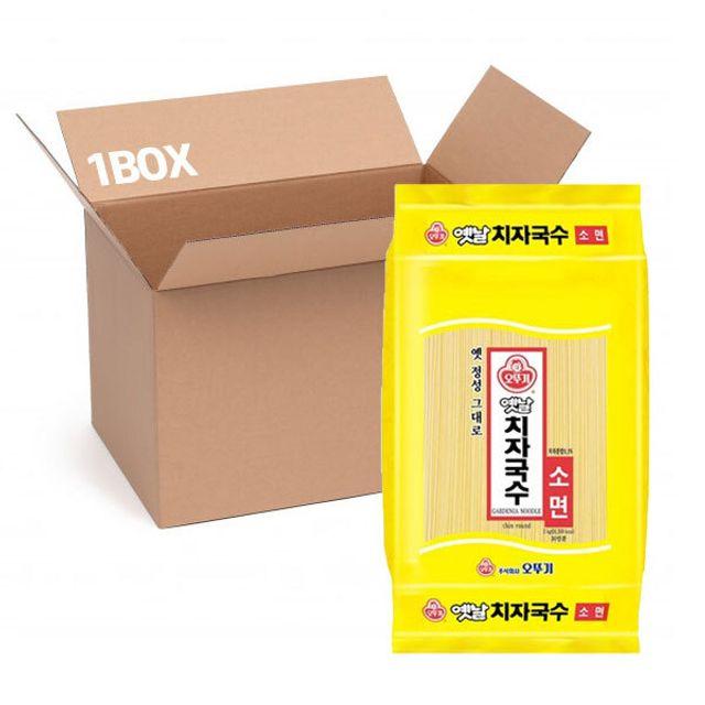 오뚜기 치자국수 3kg (1box 4입)