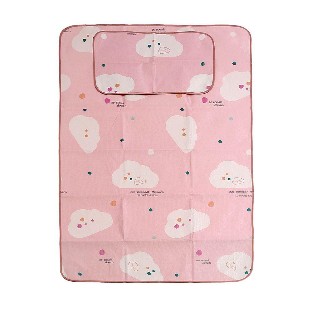 구름송이 침대 패드세트 핑크 120x195cm 침구 생활