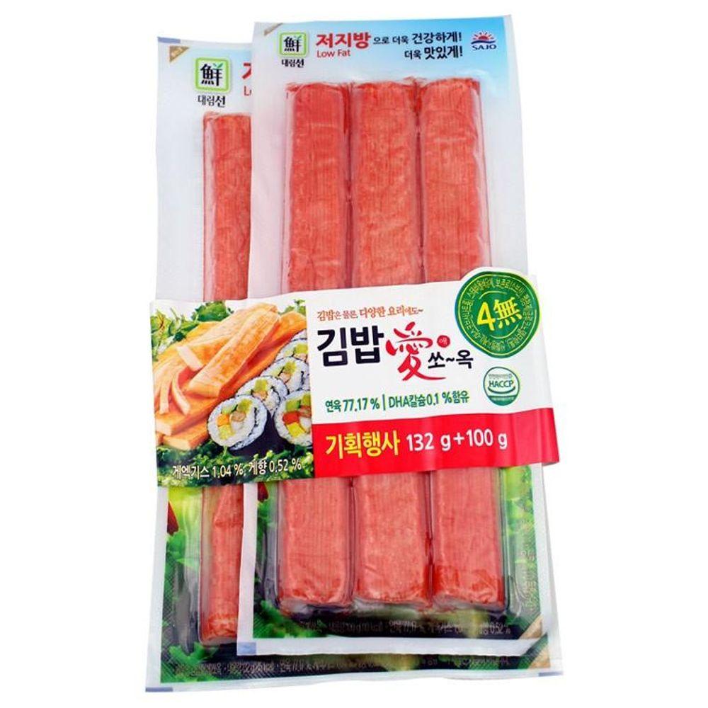IN211 김밥애 쏘옥 맛살 (132g+100g)