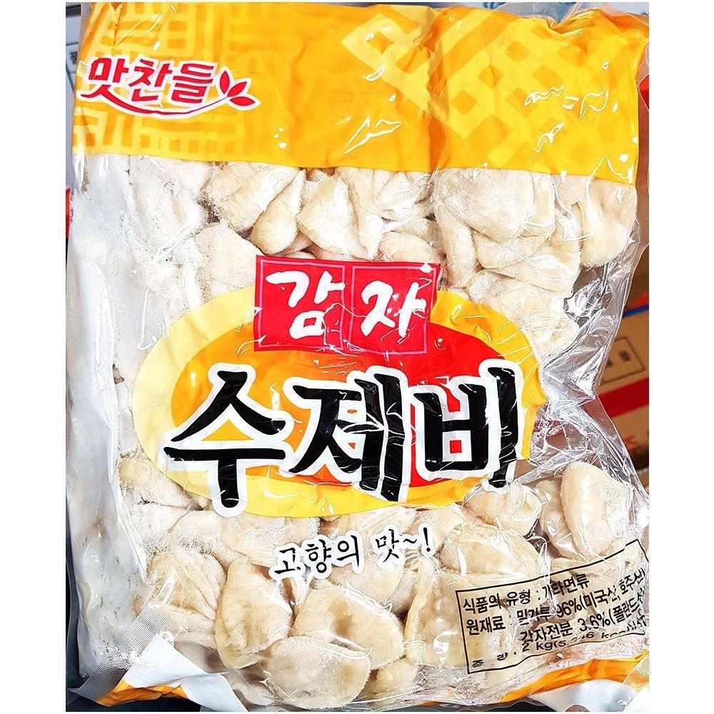 업소용 식당 식자재 재료 백미 감자수제비 2kgX8
