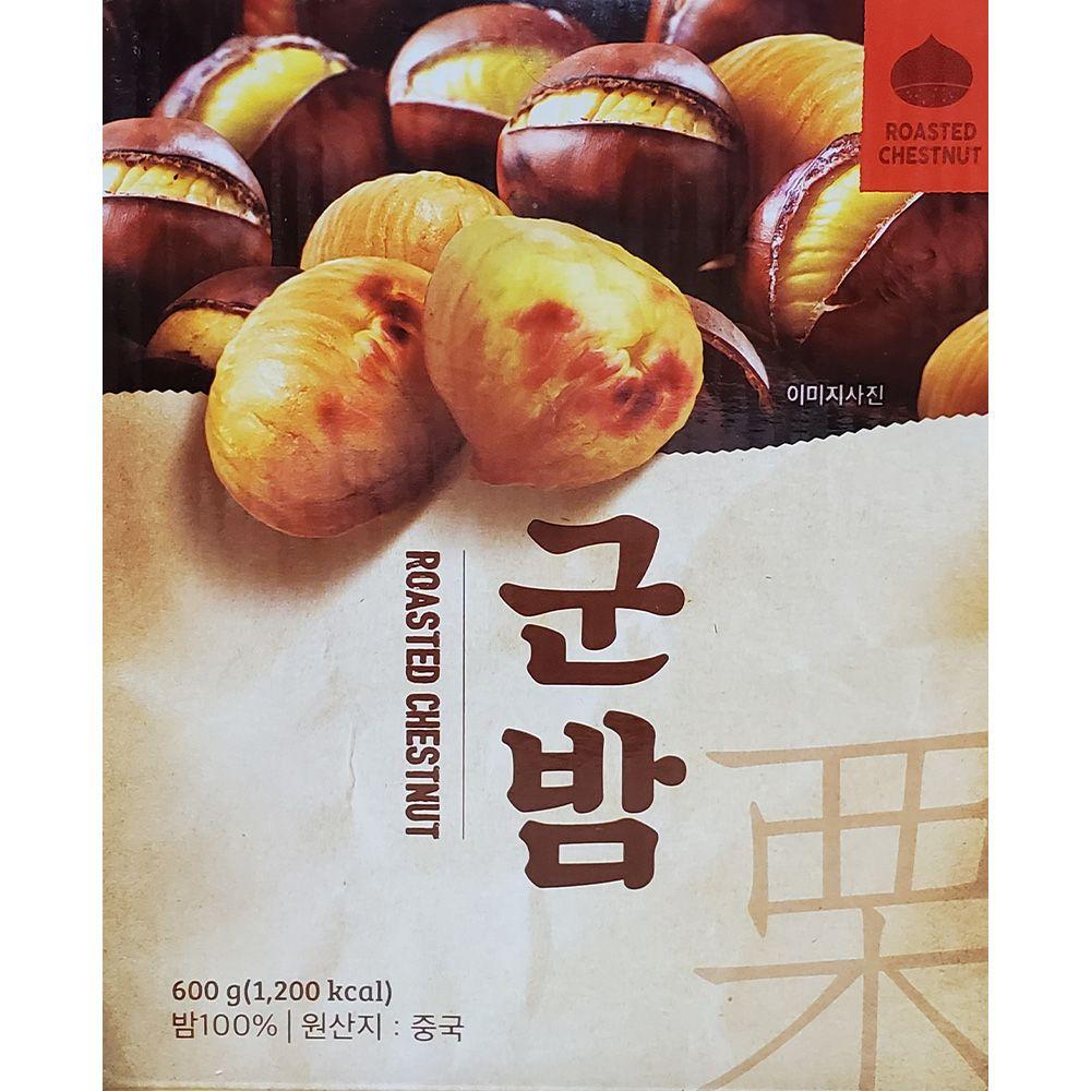 건강 영양간식 단밤 깐밤 알밤 꿀밤 군밤 100g 6입