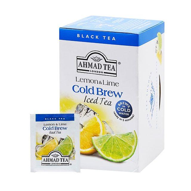콜드브루 레몬 라임 아이스티 20티백 레몬홍차 냉침용