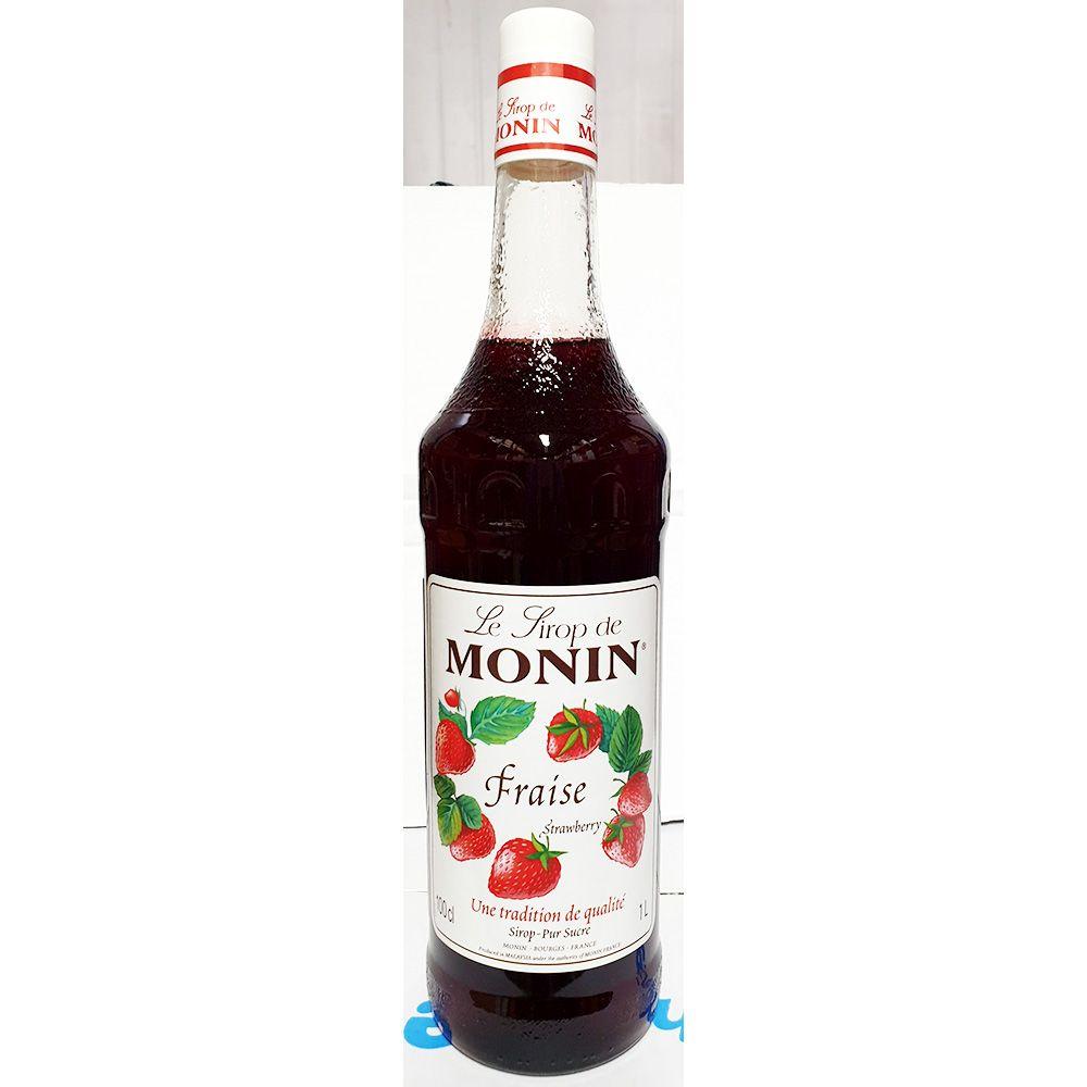 딸기시럽(모닌 1L) 식당 업소 주방 요리 음식 식재료