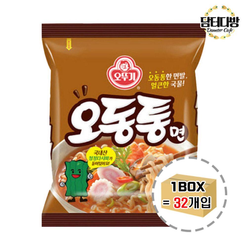 오뚜기 오동통면 1BOX (32봉)