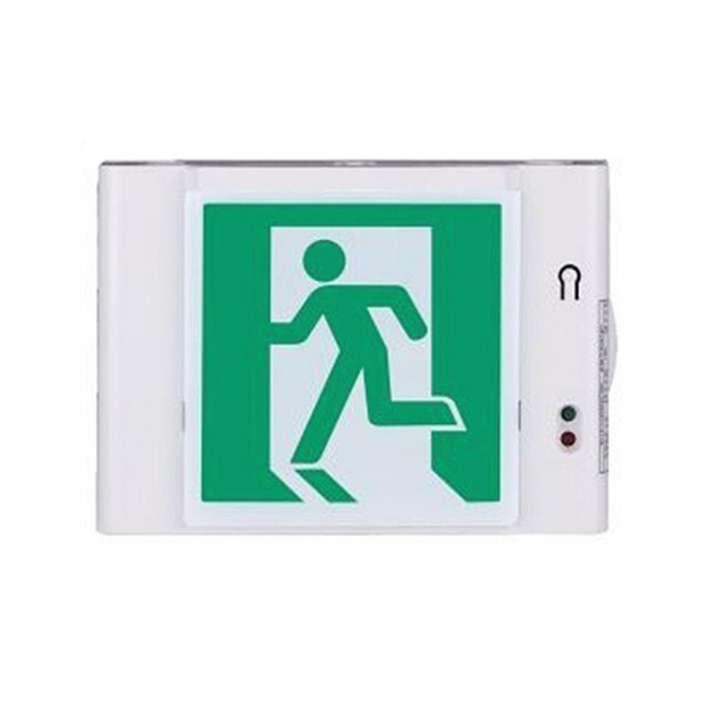 빌딩 건물 지하 정전 비상구 표시 확인 안전 유도등