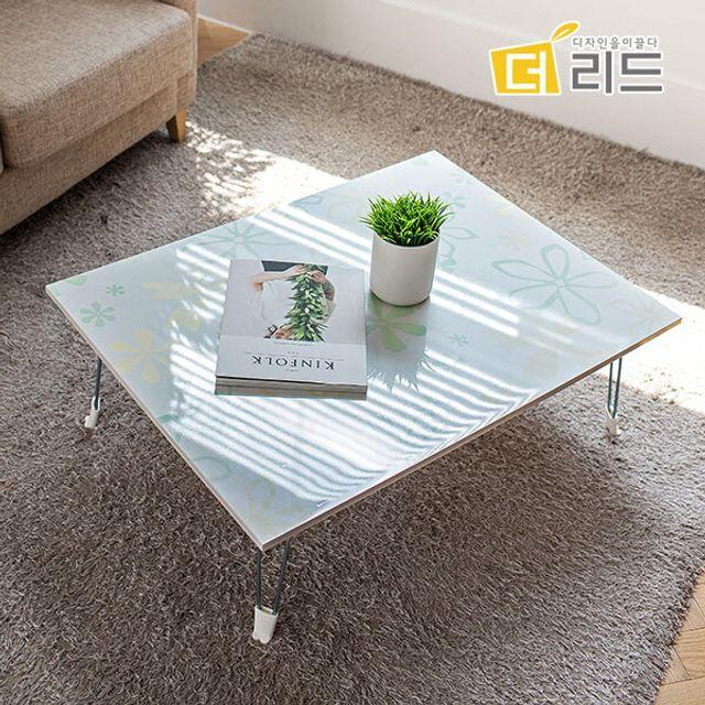 해피 하이그로시 사각 테이블 800X600