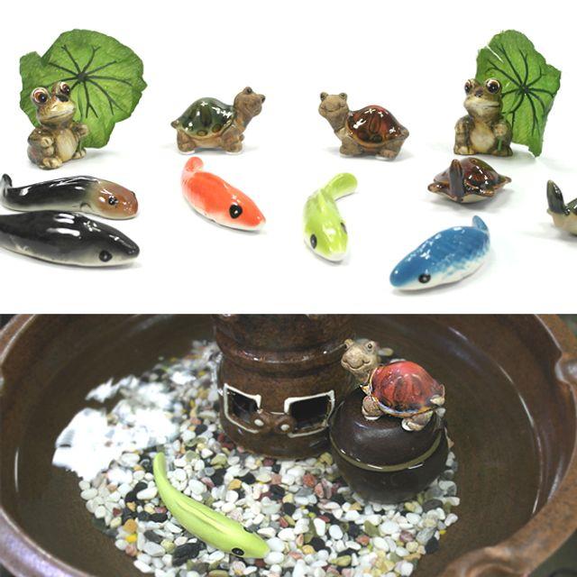 수반 장식품 물고기장식 거북이장식 개구리장식