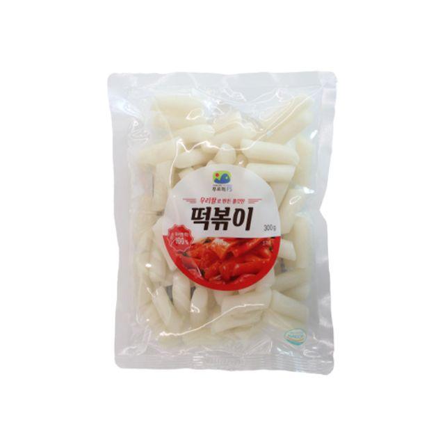 우리쌀로 만든 쫄깃한 떡볶이떡 500g