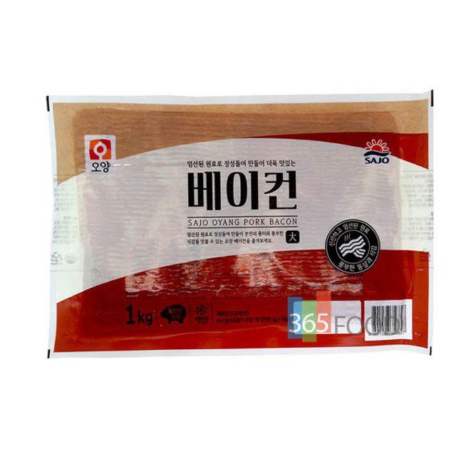사조오양 베이컨 1kg