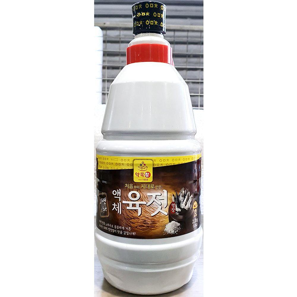 육젓 액체 약목 2.2kg X6개 젓갈 업소용 식당용 액상