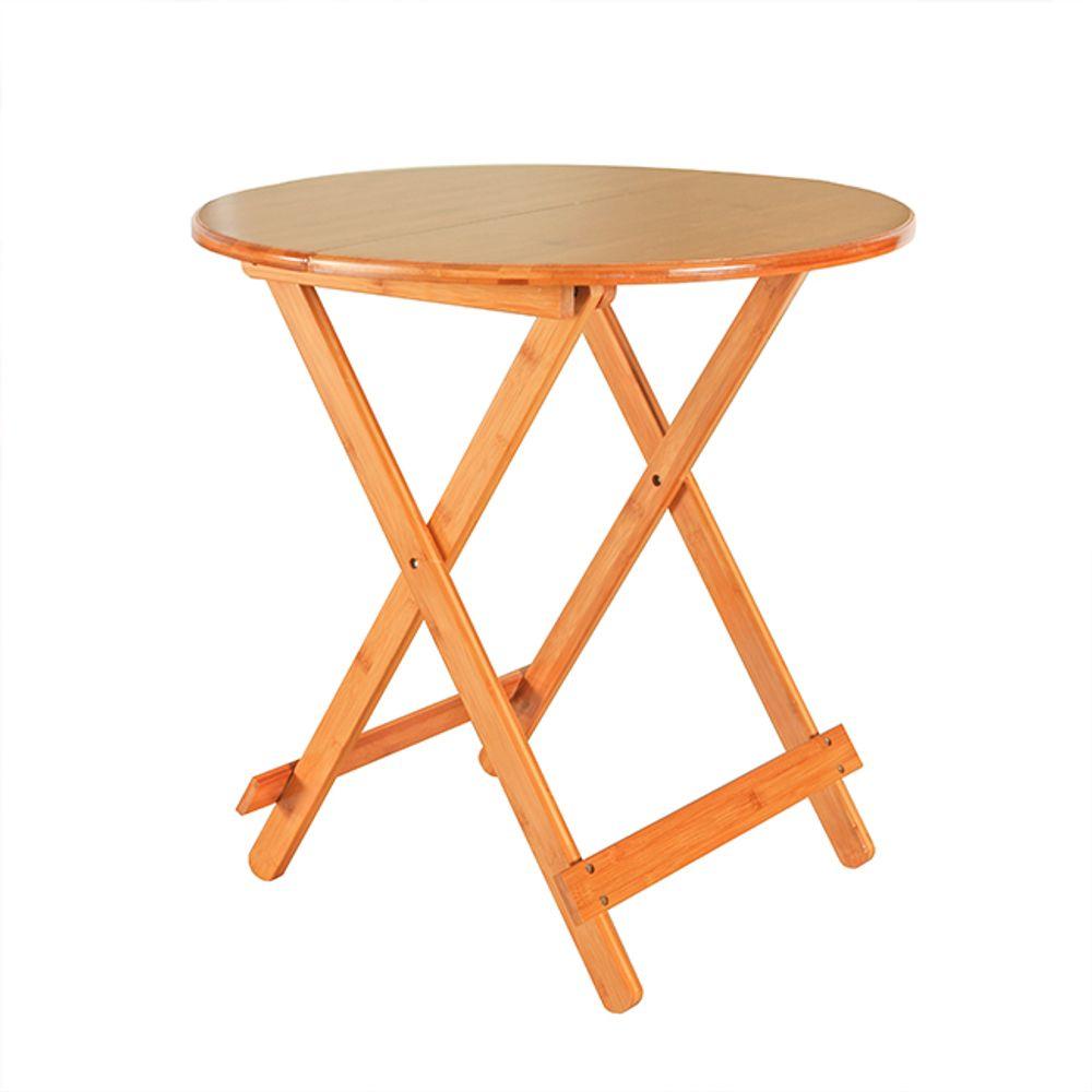 접이식 우드 원형 테이블 70cmx70cm 공부상 간이탁