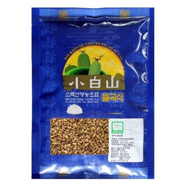 (무농-약)통밀쌀-1kg - 2020년산