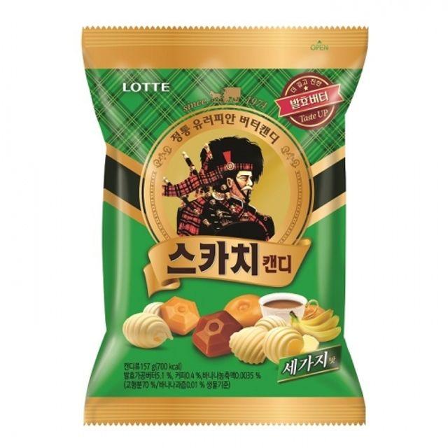 스카치 캔디 세가지맛 157g 20봉 유러피안 버터 사