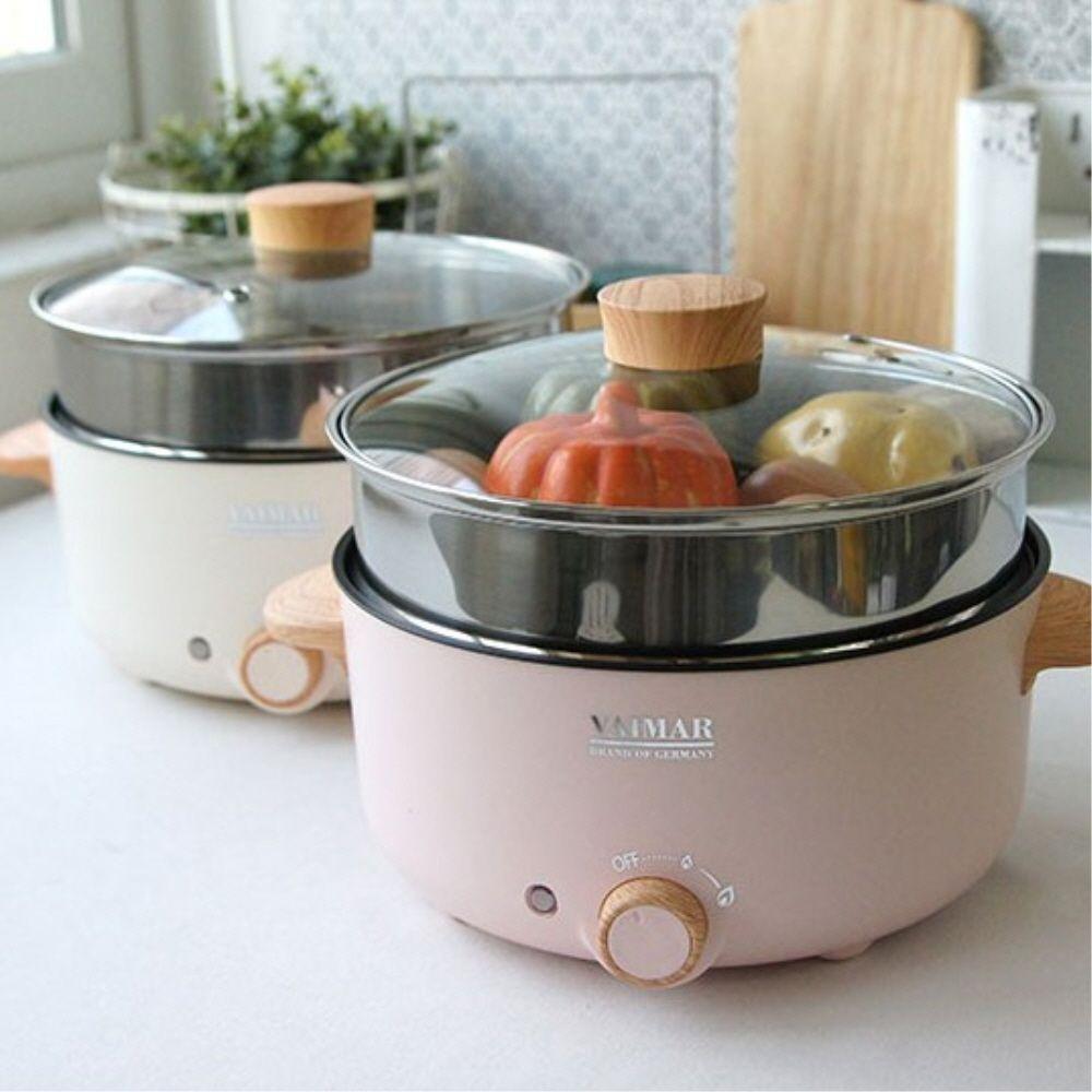 편리한 주방 요리 용품 전기 쿠커 찜기 다이얼조작 3L