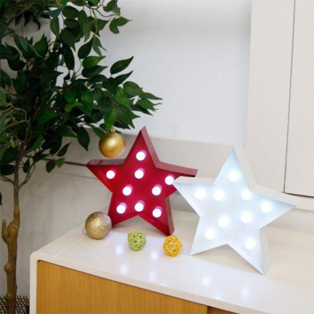 스타 별 LED조명 택1 스탠드 건전지조명 조명소품 인테리어소품
