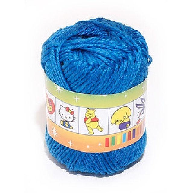 털실(파랑-45g)공작 공예 미술준비물 학습용품