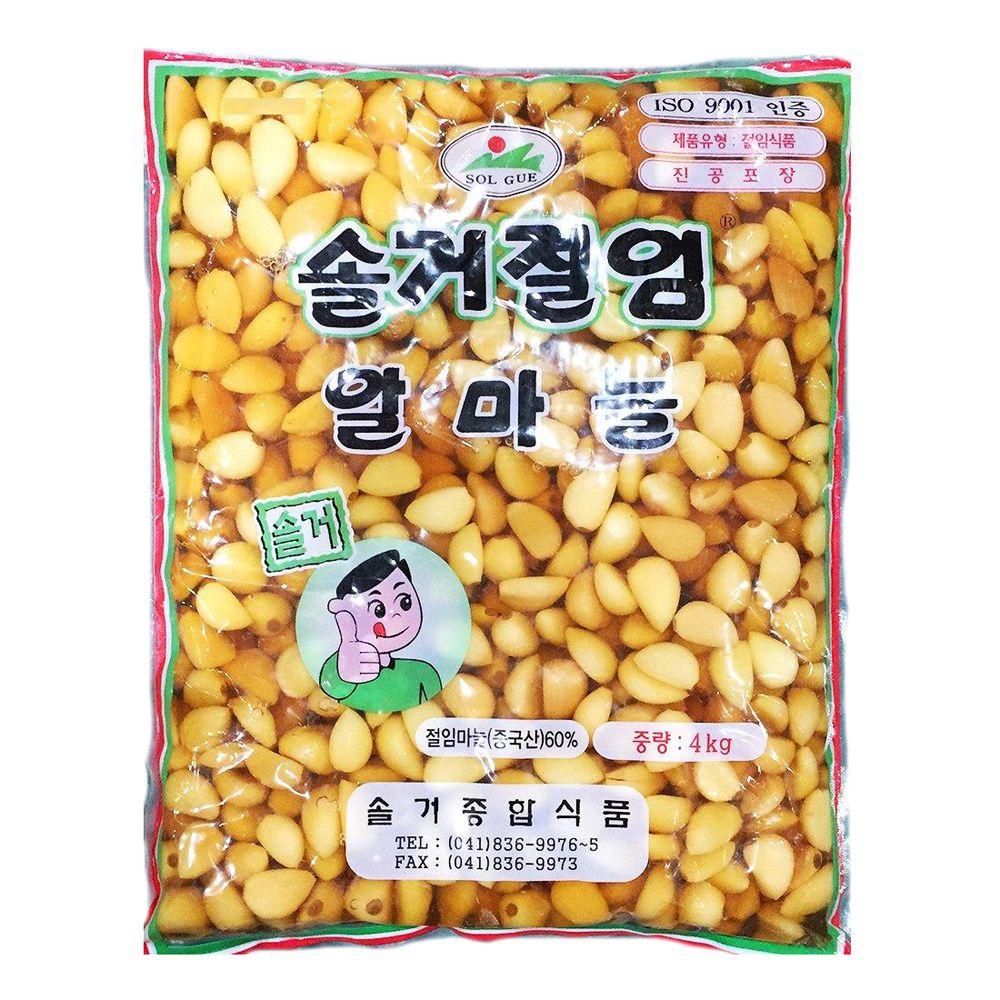 솔거종합식품 알마늘 알마늘지 4Kg