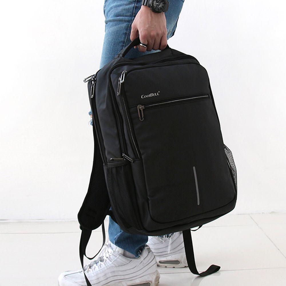 베이직 방수 학생 직장인 노트북 여행용 남성 백팩