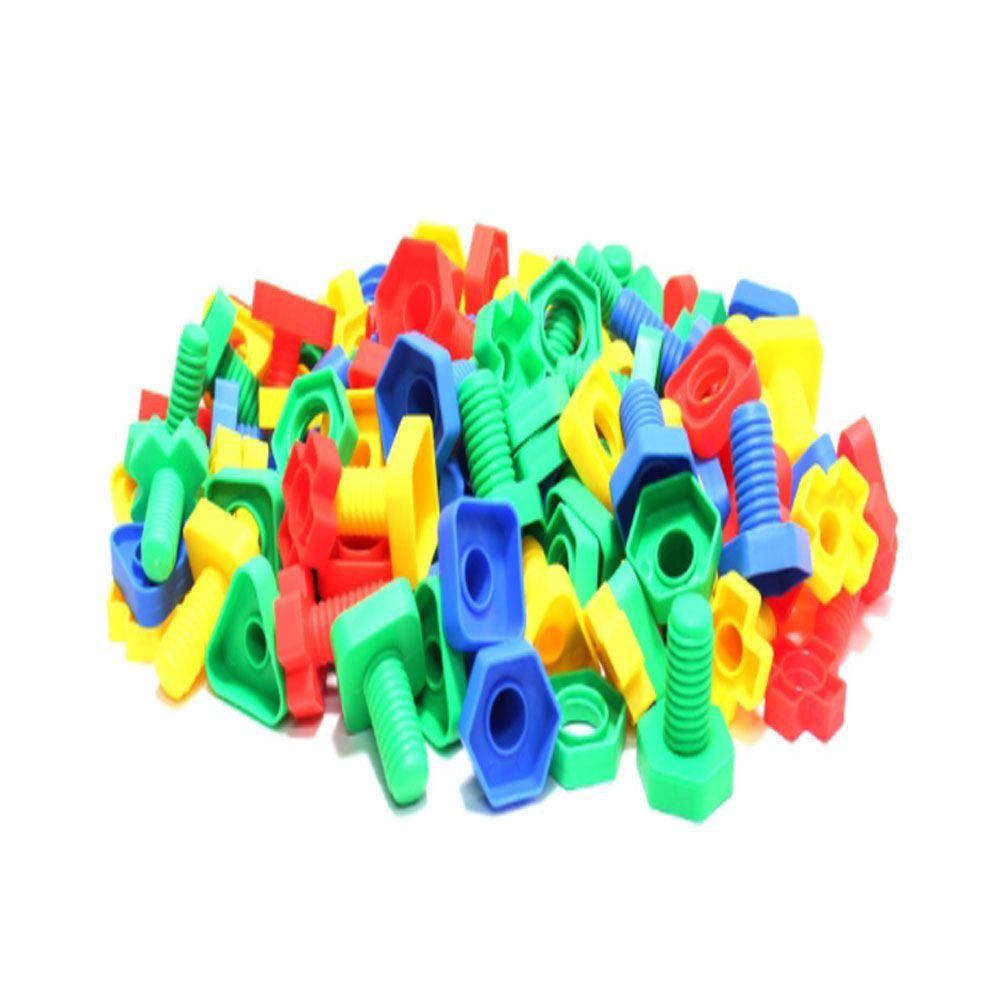아동 공구 볼트 너트 나사 블록 장난감 완구 230pcs